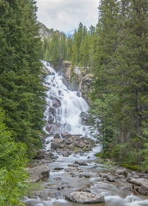 Hidden Falls Grand Teton National Park