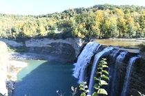 Hidden Indian face in the falls at Letchworth State Park NY Only visible during a drought x