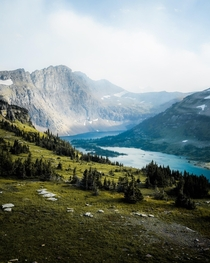 Hidden Lake In Glacier National Park Montana