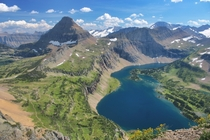 Hidden Lake in Glacier National Park Montana OC  x