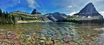 Hidden Lake on a Blue-Bird Day - Glacier National Park