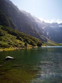 Hidden Paradise Lake Marian New Zealand