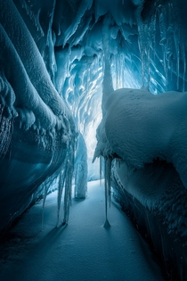 Hidden Underworld The Turner Glacier in Baffin Island Canada  Photo by Artur Stanisz