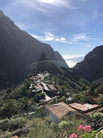 Hidden village of Masca in the Canary Islands