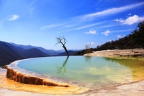 Hierve el Agua Mexico x by osrkg A thermal spring at the top of a mountain