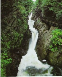 High Falls Gorge in Lake Placid NY