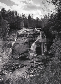 High Falls NC - On Traditional Black and White Film