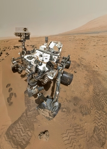 High resolution self portrait by Curiosity rover arm camera  October  Credit NASAJPL-CaltechMalin Space Science SystemsJulian Herzog