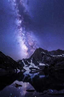 High Sierra Milky Way Inyo National Forest California