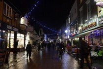 High Street in Canterbury Kent UK