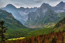 High Tatra mountains Poland