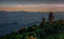 Highest point in Georgia Brasstown Bald