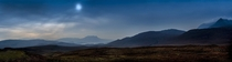Highland Panorama - Misty View Over the Loch North of Ullapool Scottish Highlands  x  OC