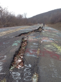 Highway in Centralia PA