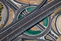 Highway interchange by Klaus Leidorf  x-post from raerialporn