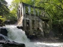 Hike into Gatineau Park QC to visit the Carbide Willson Ruins