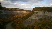 Hiked around Letchworth State Park in Upstate NY with a friend last weekend