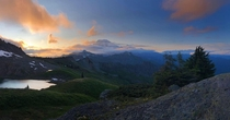 Hiked  miles this weekend for this view Mt Ranier WA