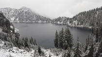 Hiked Snow Lake yesterday - Washington State