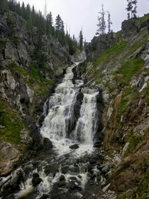 Hiked to Mystic Falls in Yellowstone