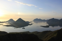 Hiked up a mountain in Northern Norway two years ago possibly the greatest view i have ever seen