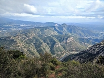 Hiked up Monserrat in Catalunya Spain Absolutely Amazing