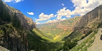 Hiking above Telluride Colorado today