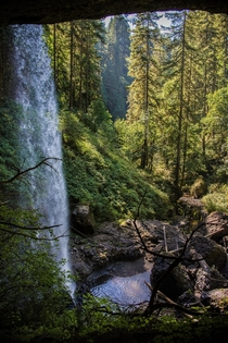 Hiking at Silverton Falls OR