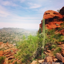 Hiking in the desert in the middle if a city is actually quite glorious Camelback Mountain Phoenix Arizona