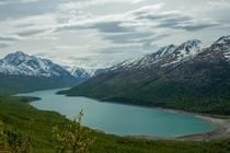 Hiking is worthy only with these kind of views Eklutna Lake Chugach State Park Alaska