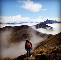 Hiking the Kepler Track Fiorland National Park NZ