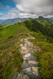 Hiking the picturesque hills of Sitka AK