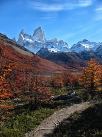 Hiking to Mt Fitzroy in Argentina