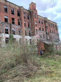 Hilden Mill previously home to  employees now a sprawling cluster of ruins