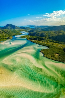 Hill Inlet Whitsunday Islands Queensland Australia  IG paulmp