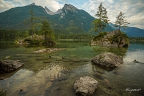 Hintersee bei Ramsau - Berchtesgaden Germany  by AlanPThompson