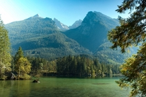 Hintersee by Ramsau bei Berchtesgaden Germany  OC