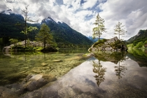 Hintersee in Bavaria Germany  Photographed by Sunny Herzinger