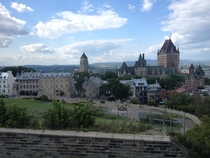 Historic Qubec from the nd Regiment Citadel