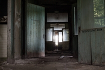 History is repeating itself The Halls of an infectious disease hospital from the last epidemic of