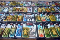 Hoard of Star Wars action figures found in an abandoned Welsh toy store