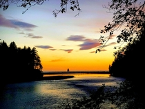 Hoh River Sunset - Memorial Day Weekend  -