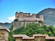Hohensalzburg Fortress in Salzburg Austria has clearly stood the test of time as it was built in