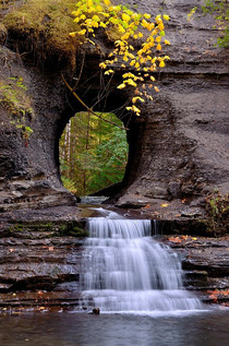Hole in the wall Photo by Ronald Mani Port Alberni British Columbia