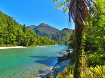 Hollyford River Southland New Zealand