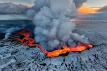 Holuhraun Eruption In Iceland Photographer Iurie Belegurschi