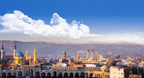 Holy city of Mashhad Iran