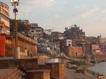 Holy City of Varanasi one of the most ancient settlements of our species