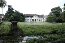 Home lost to neglect on Penang Island Malaysia