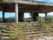 Home of Pablo Escobar abandoned since